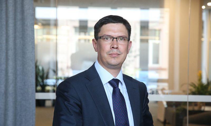 """Eimantas Viršila, faktoringo kredito paslaugų įmonės """"Finora kreditas"""" direktorius. Vladimiro Ivanovo (VŽ) nuotr."""