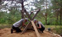 Archeologai išsiaiškino, kaip Vytauto laikais laidoti elitiniai raiteliai