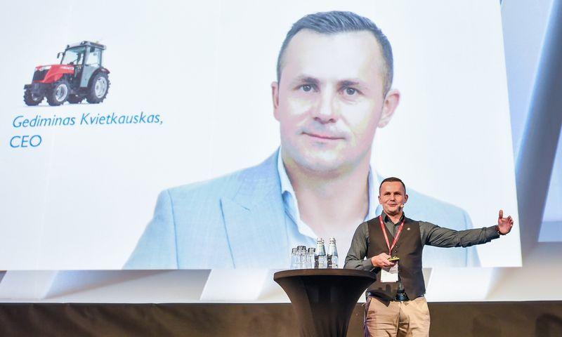 Gediminas Kvietkauskas, EWA generalinis direktorius. Ryčio Galadausko (VŽ) nuotr.