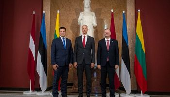 S. Skvernelis Latvijos premjerui priminė, kad Astravo AE saugumo problemos neišspręstos