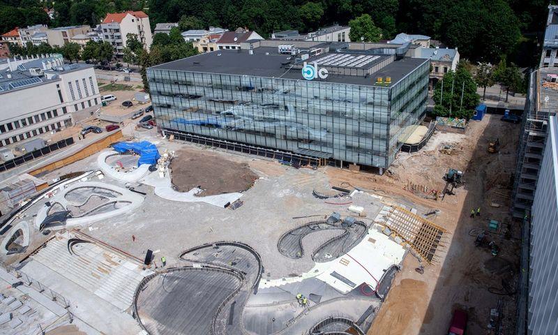 """""""Urban Inventors"""" plėtojamas """"BLC verslo lyderių centras"""" bei atnaujinama Vienybės aikštė Kaune. Juditos Grigelytės (VŽ) nuotr."""