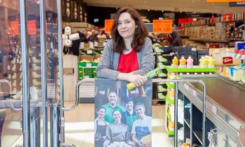 """Elena Šilovaitė, UAB """"Lidl Lietuva"""" rinkodaros ir reklamos departamento vadovė. Juditos Grigelytės (VŽ) nuotr."""