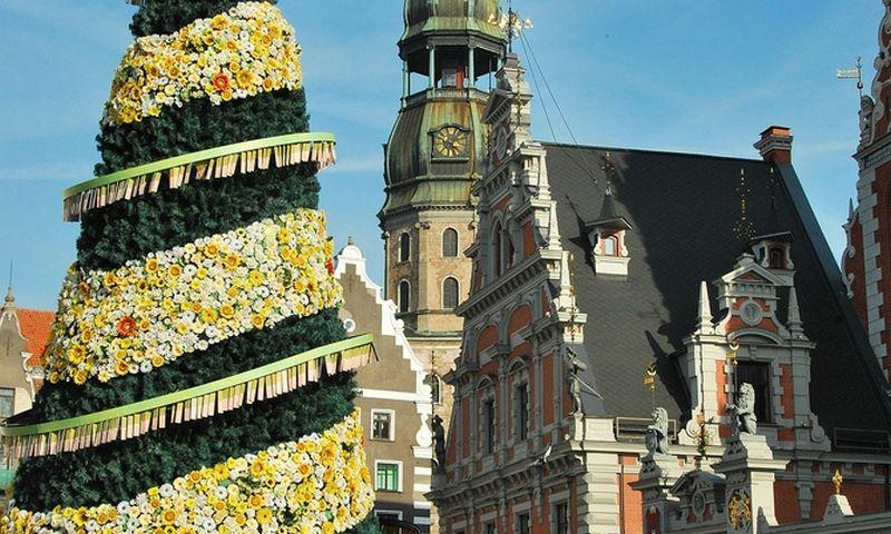Latvija, sostinė Ryga. Šv. Peterio bažnyčia (Pēterbaznīca). Ryto Staselio nuotr.