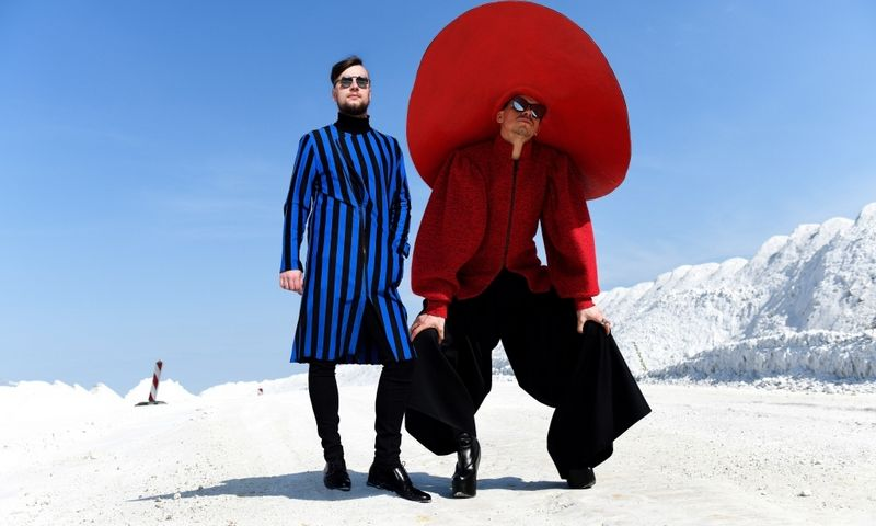 """Elektroninės muzikos duetas """"Beissoul & Einius"""" – vieni iš daugiau kaip 70 atlikėjų, kurie koncertuos festivalyje """"Sostinės dienos 2019"""". Dmitry Komissarenko nuotr."""
