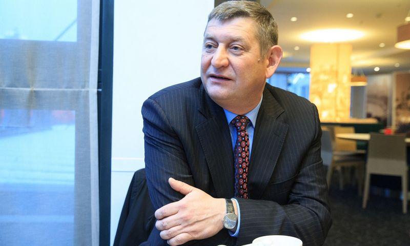 """Alvydas Naujėkas, UAB """"Vėjo projektai"""" direktorius. Vladimiro Ivanovo (VŽ) nuotr."""