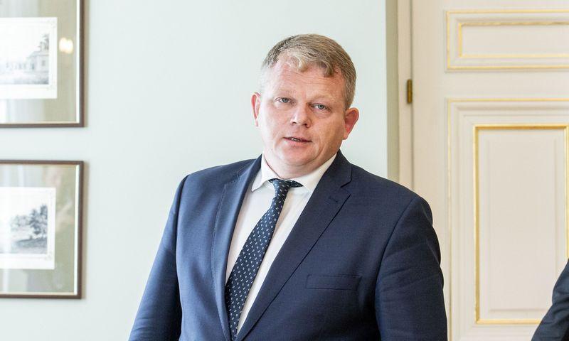 Žemės ūkio ministras Andrius Palionis. Juditos Grigelytės (VŽ) nuotr.