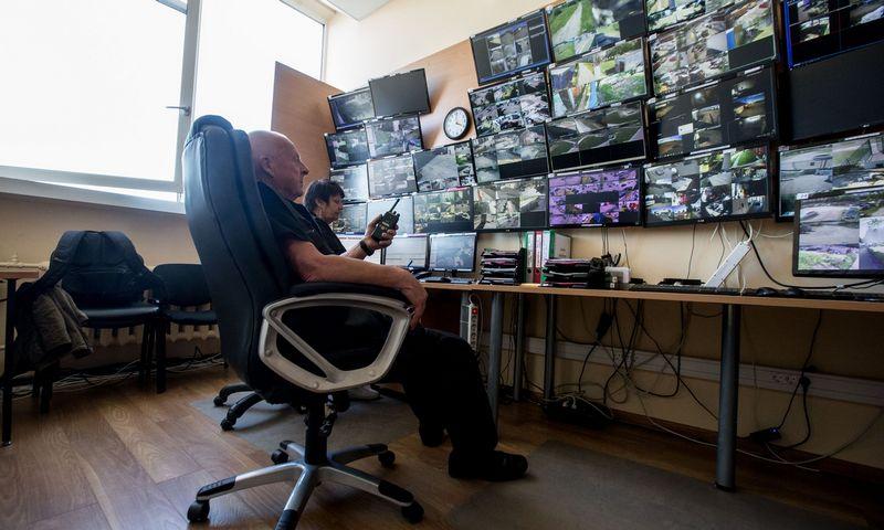 Kitaip nei kai kurie JAV miestai, ES neplanuoja veidų atpažinimo technologijos drausti naudoti policijos ir misto stebėjimo (CCTV) kamerose, torima tik nustatyti aiškias taisykles. Juditos Grigelytės (VŽ) nuotr.