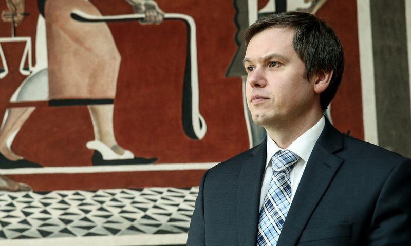 Vytautas Valvonis, Lietuvos banko Priežiūros tarnybos direktoriaus. Vladimiro Ivanovo (VŽ) nuotr.