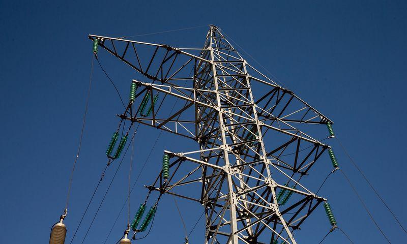 Aukštos įtampos elektros perdavimo linija. Juditos Grigelytės (VŽ) nuotr.