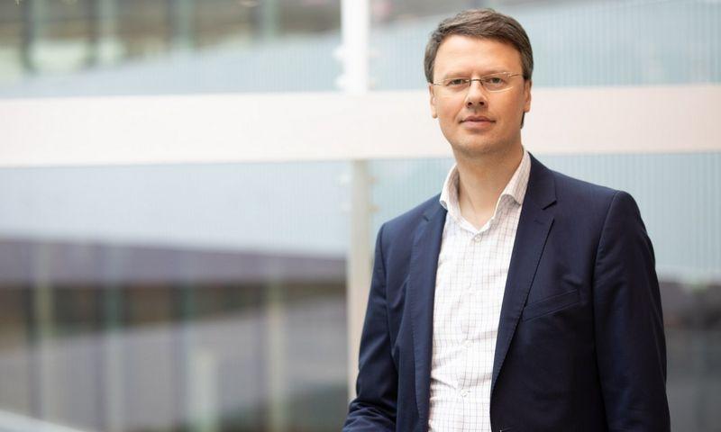 """Dominykas Čeledinas, """"Tia Technology"""" vadovas Lietuvai."""