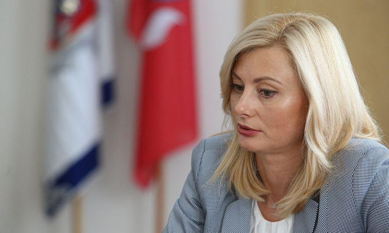 Rita Tamašunienė - pirmoji moteris vidaus reikalų ministro poste. Vladimiro Ivanovo (VŽ) nuotr.