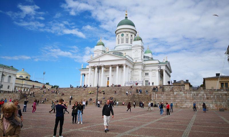 Suomijos sostinė Helsinkis. Gintauto Degučio (VŽ) nuotr.