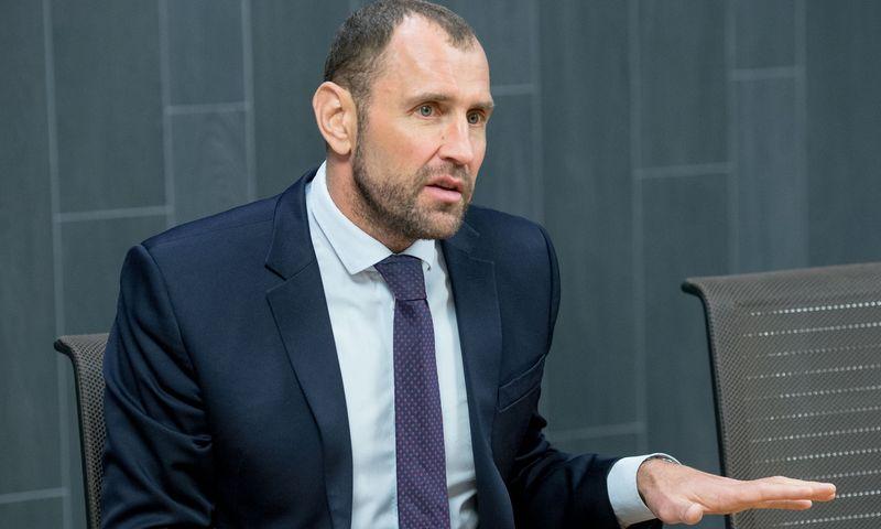 """""""Invaldos INVL"""" prezidentas Darius Šulnis. Juditos Grigelytės (VŽ) nuotr."""