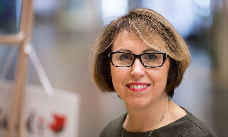 Prekybos centro CUP generalinė direktorė Ona Nevinskienė. Vladimiro Ivanovo (VŽ) nuotr.