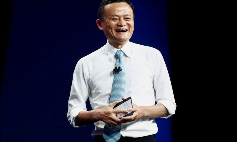 "Jackas Ma, ""Alibaba"" įkūrėjas. Marko Blincho (""Reuters"" / ""Scanpix"") nuotr."