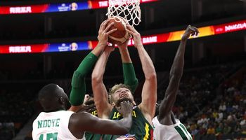 Lietuva sutriuškino Senegalo rinktinę