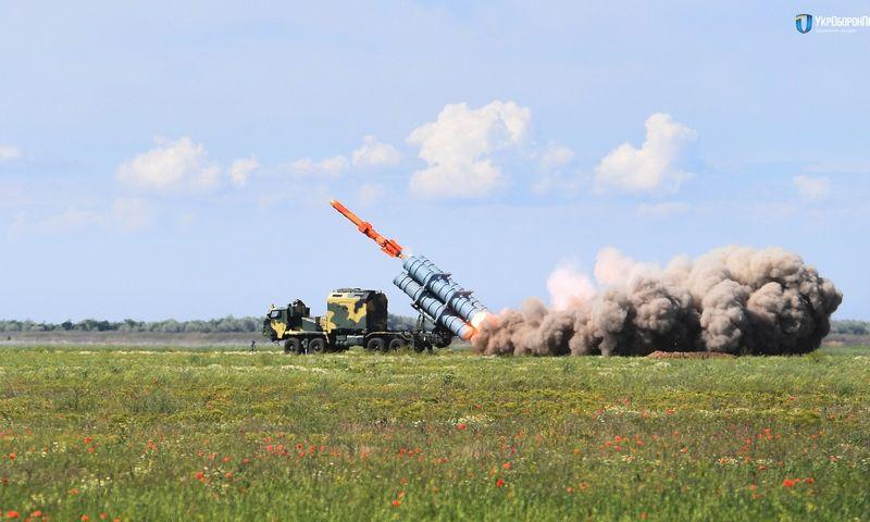 """Kranto apsaugos priešlaivinė raketinė sistema """"Neptun"""" turi eksporto perspektyvų. """"Foto Archives – Ukroboronprom"""" nuotr."""