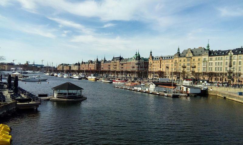 Švedijos sostinė Stokholmas.Vladimiro Ivanovo (VŽ) nuotr.