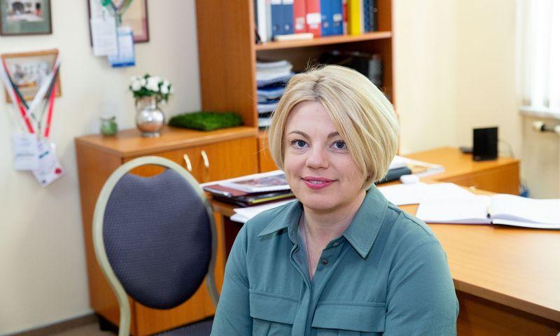 Eglė Ližaitytė, Lietuvos viešbučių ir restoranų asociacijos vykdomoji direktorė. Juditos Grigelytės (VŽ) nuotr.