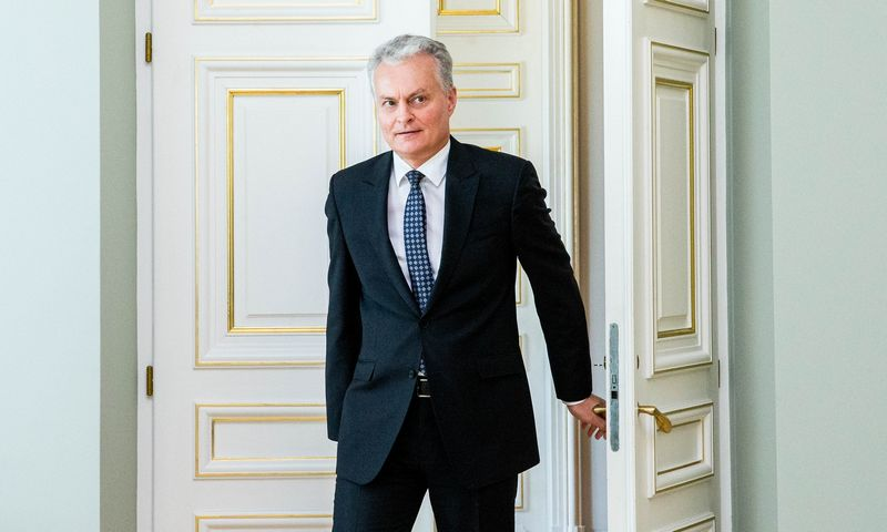 Prezidentas Gitanas Nausėda. Juditos Grigelytės (VŽ) nuotr.