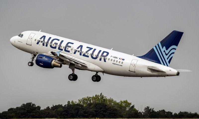 """""""Aigle Azur"""" inicijuoja bankrotą, tačiau žada nenutraukti skrydžių. """"Reuters"""" / """"Scanpix"""" nuotr."""