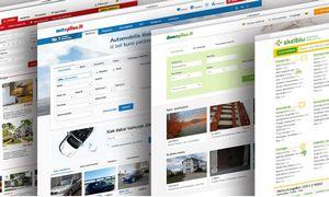 Skelbimų portalų rinka: dominuojančios platformosvaržo galvas keliančius naujokus