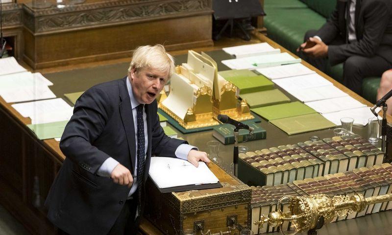 """Borisas Johnsonas, JK premjeras. """"SIPA / """"Scanpix"""" nuotr."""