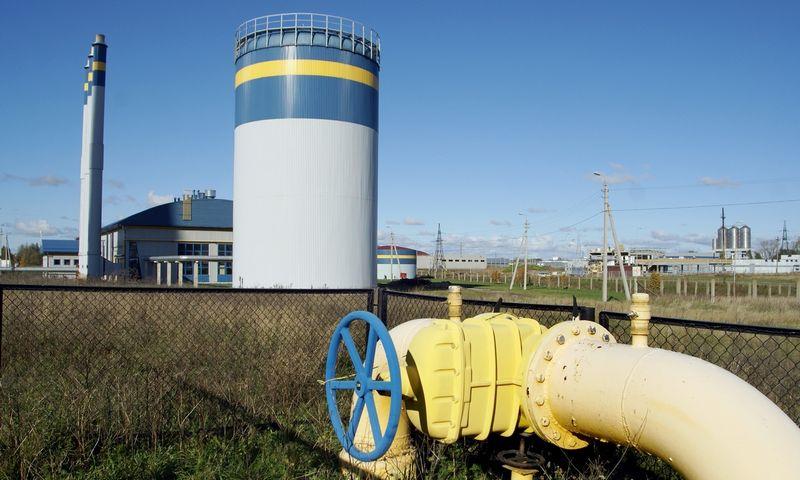 Klaipėdos geoterminė elektrinė 2007 m. pabaigoje. Algimanto Kalvaičio nuotr.