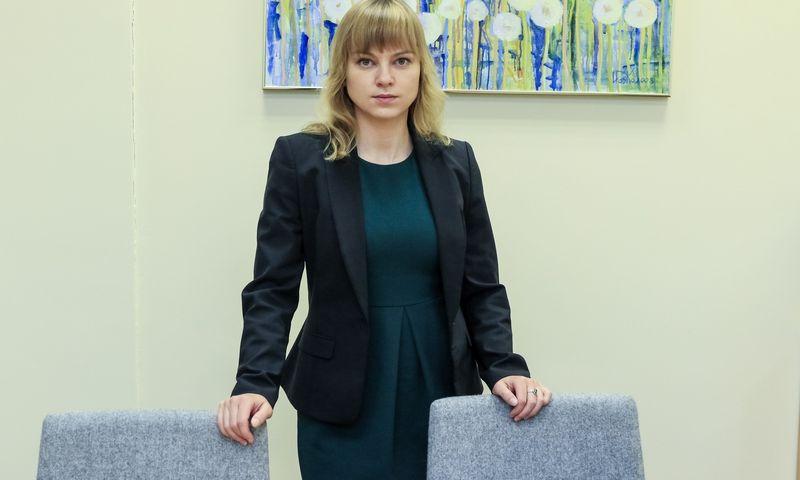 Sigita Pranckėnaitė, smulkiuosius Lietuvos investuotojus vienijančios Investuotojų asociacijos valdybos narė. Vladimiro Ivanovo (VŽ) nuotr.