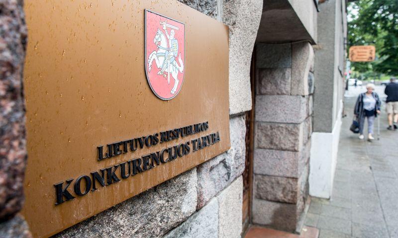 Konkurencijos tarybos iškaba. Juditos Grigelytės (VŽ) nuotr.