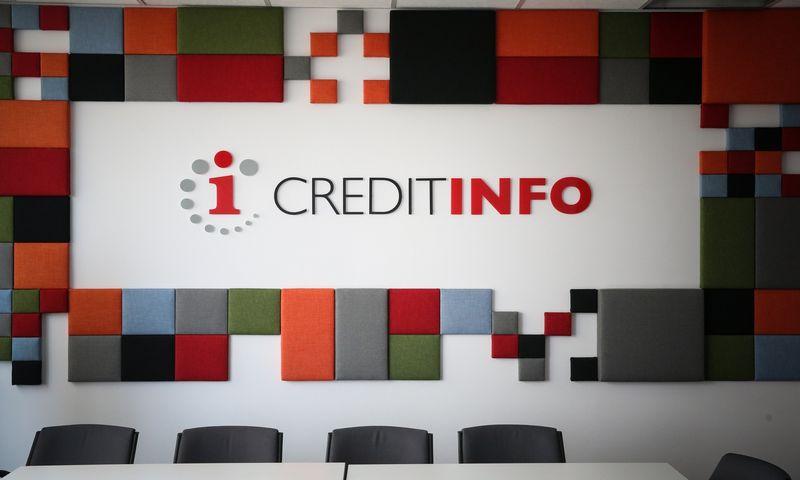 """""""Creditinfo"""" logotipas. Vladimiro Ivanovo (VŽ) nuotr."""