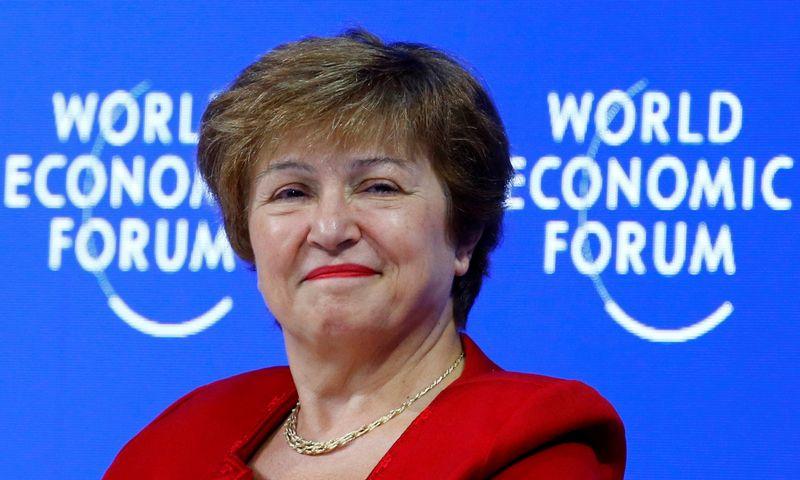 """Kristalina Georgieva. Arnd Wiegmann (""""Reuters""""/""""Scanpix"""") nuotr."""