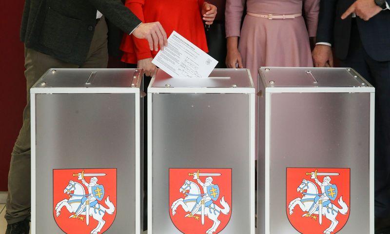 Trijose vienmandatėse apygardose sekmadienį vyko Seimo narių rinkimai. Vladimiro Ivanovo (VŽ) nuotr.