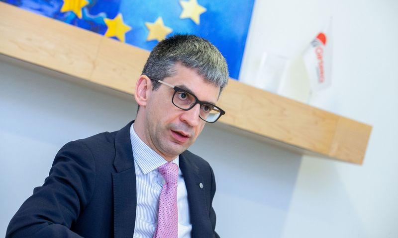 """Edvardas Liachovičius, UAB """"Girteka Logistics"""" vadovas, tvirtina, kad JK jam yra labai svarbi rinka. Juditos Grigelytės (VŽ) nuotr."""