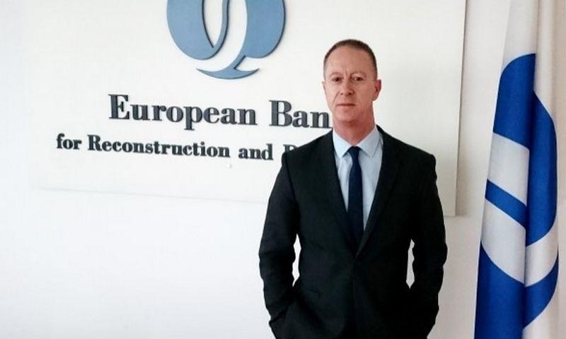 ERPB vadovas Baltijos šalims Ianas Brownas. ERPB nuotr.