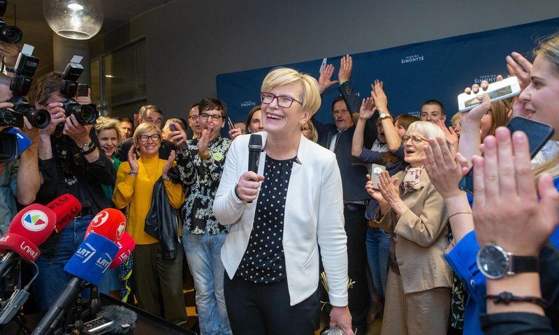 Inngrida Šimonytė, kandidatė į prezidentus. Juditos Grigelytės (VŽ) nuotr.