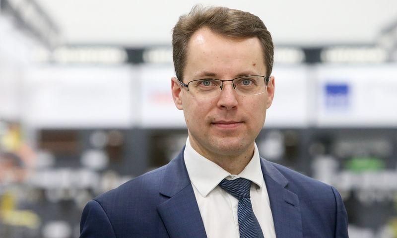 """Vytautas Siaurusaitis, """"Day Q Analytics"""" vadovas ir partneris. Vladimiro Ivanovo (VŽ) nuotr."""