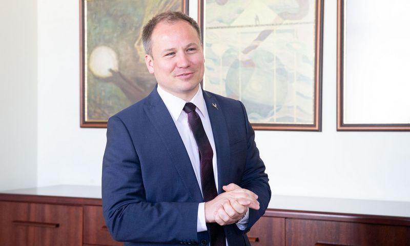 Buvęs žemės ūkio ministras Giedrius Surplys. Juditos Grigelytės (VŽ) nuotr.
