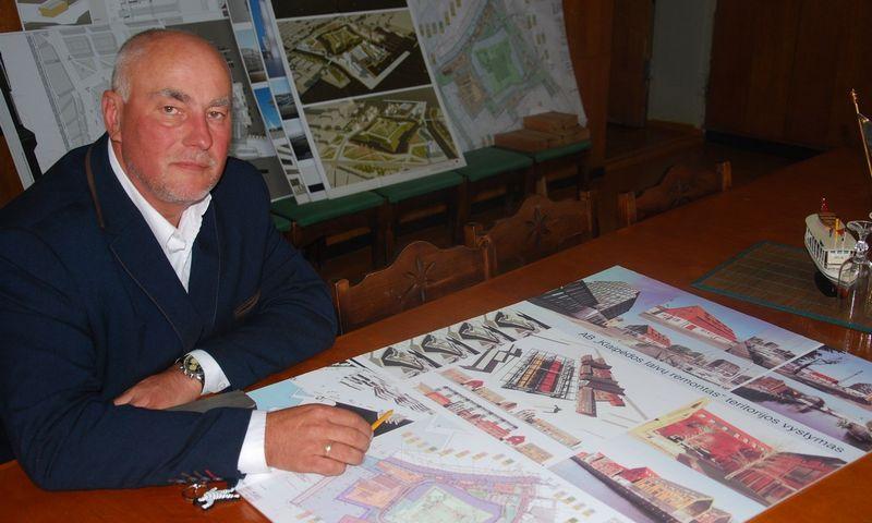 Kruizinių laivų terminalo, valdančio parduodamus pastatus, direktorius Alvydas Butkus. Mildos Ancevičės (VŽ) nuotr.