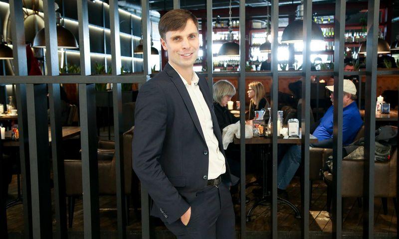 """Andrius Lavrinavičius, restoranų tinklo """"Grill London"""" bendraturtis. Vladimiro Ivanovo (VŽ) nuotr."""