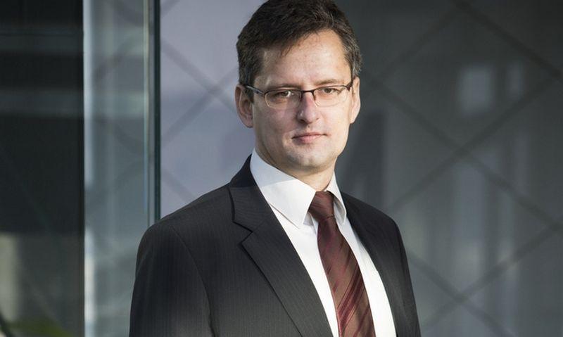 """Vaidas Paukštys, """"Swedbank investicijų valdymo"""" investavimo vadovas, atsakingas už 1,2 mlrd. Eur vertės finansinio turto portfelį. Vladimiro Ivanovo (VŽ) nuotr."""