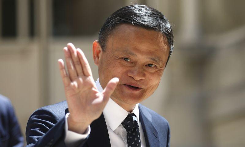 """""""Alibaba"""" įkūrėjas Jackas Ma paskelbė paliekantis kompaniją. """"Scanpix"""" nuotr."""