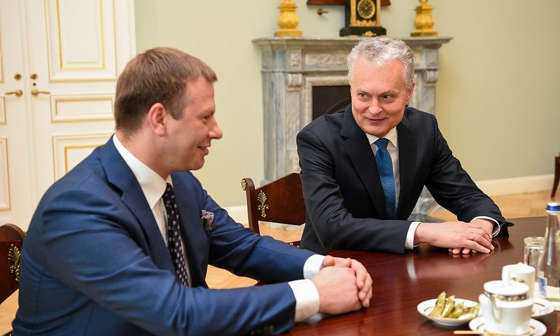 Roberto Dačkaus (Prezidento kanceliarijos) nuotr.