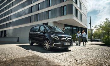 Mercedes-Benz naujiena – minivenas ir verslui, ir laisvalaikiui