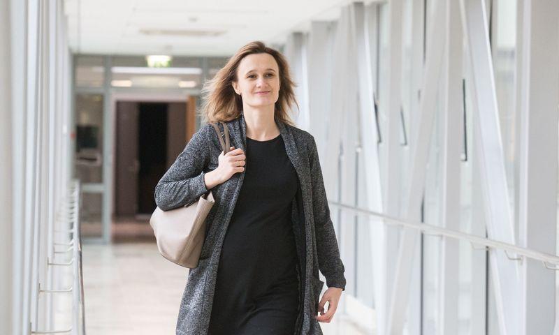 Seimo narė Viktorija Čmilytė-Nielsen. Juditos Grigelytės (VŽ) nuotr.