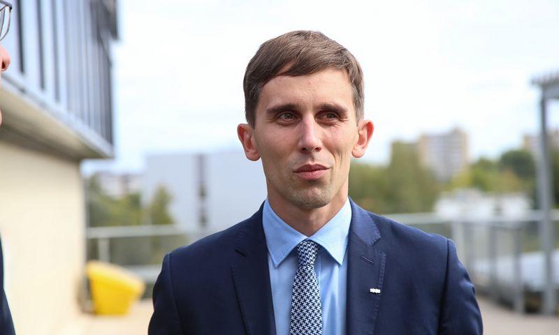SEB banko ekonomistas Tadas Povilauskas. Vladimiro Ivanovo (VŽ) nuotr.