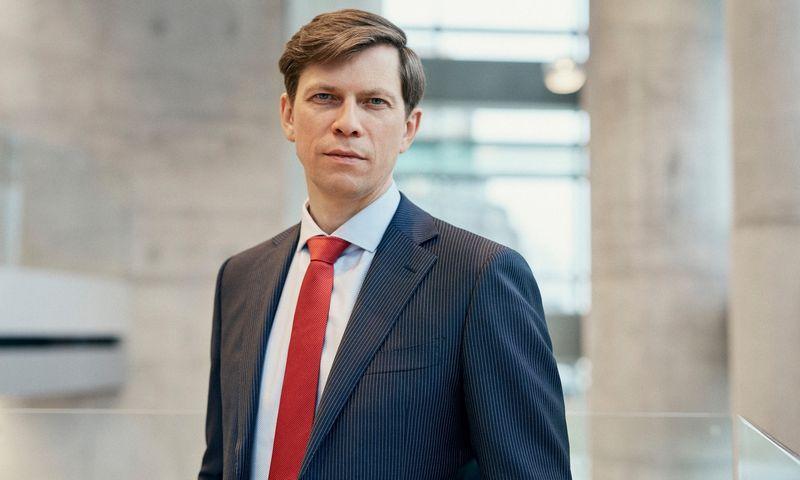 """Jonas Urbonas, """"Luminor"""" verslo bankininkystės departamento Lietuvoje vadovas. """"Luminor"""" nuotr."""