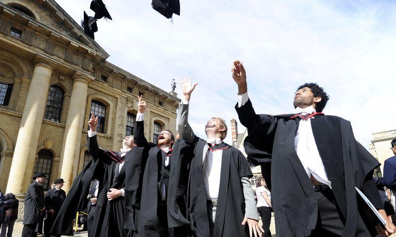 """Oksfordo universitetas geriausiu skelbiamas ketvirtus metus iš eilės. Paul Hackett (""""Reuters""""/""""Scanpix"""") nuotr."""