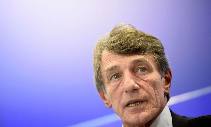 """Europos Parlamento pirmininkas sukritikavo britų derybas dėl """"Brexit"""""""