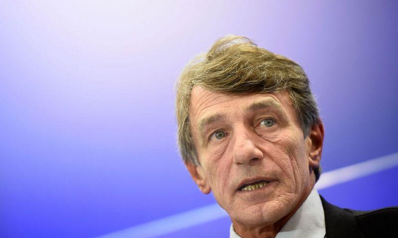 """Davidas Sassolis, EP pirmininkas.  Johno Thyso (""""AFP / """"Scanpix"""") nuotr."""
